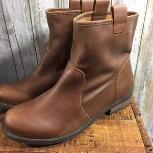 Sole society brown leather Natasha boots women 8